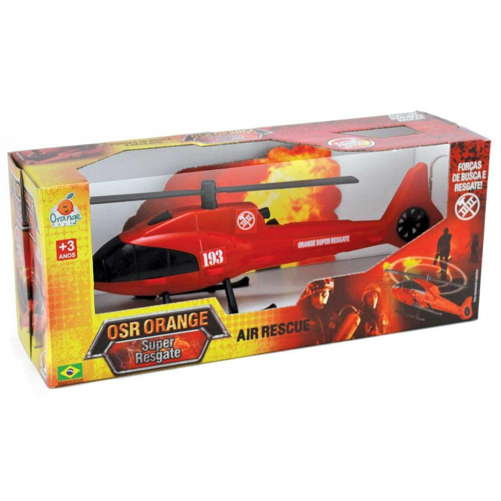 Helicóptero OSR Orange Super Resgate - Orange Toys