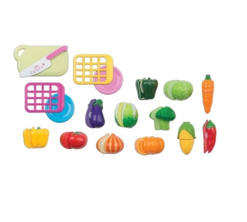 Horti Fruti Legumes com Velcro - Braskit
