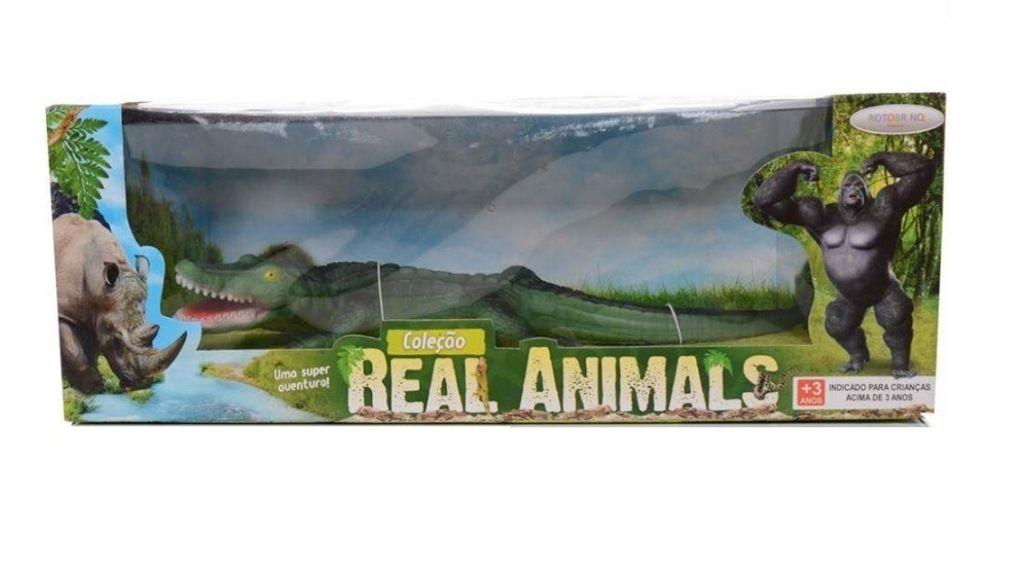 Jacaré Coleção Real Animals - Bee Toys