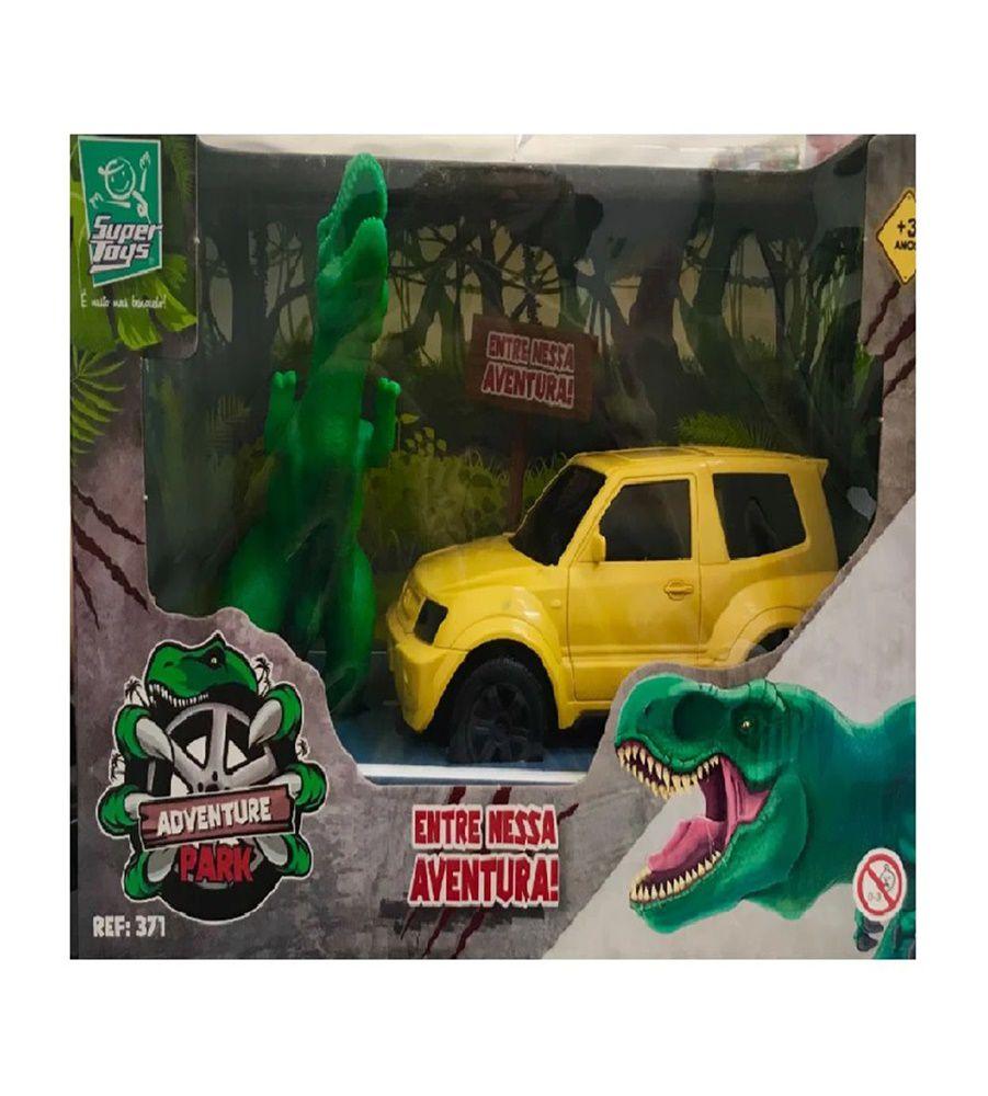 Jipe Adventure Park com Dinossauro Sortidos - Super Toys