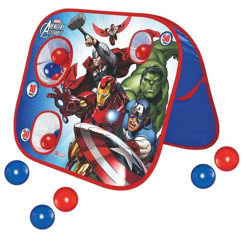 Jogo Acerte o Alvo Play Ball Avengers com 20 Bolinhas - Lider