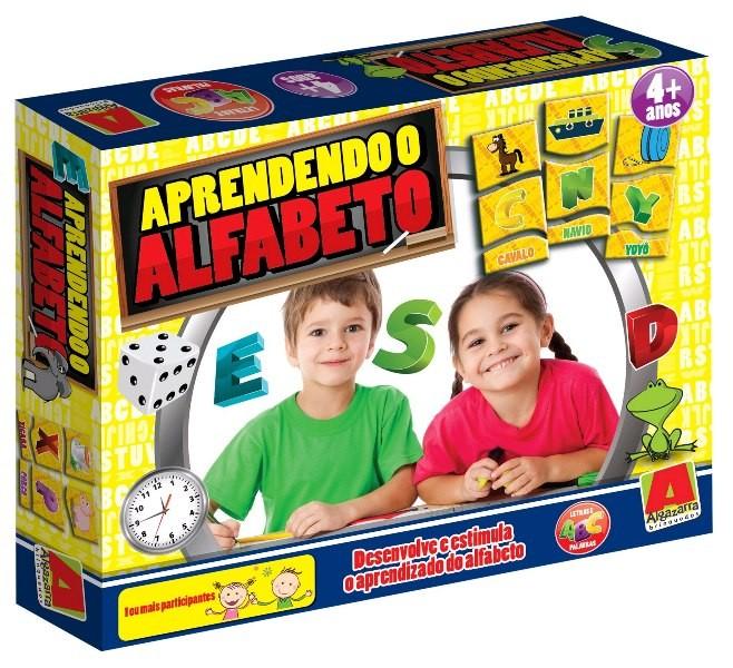 Jogo Aprendendo o Alfabeto - Algazarra