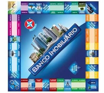 Jogo Banco Imobiliário Novo - Estrela