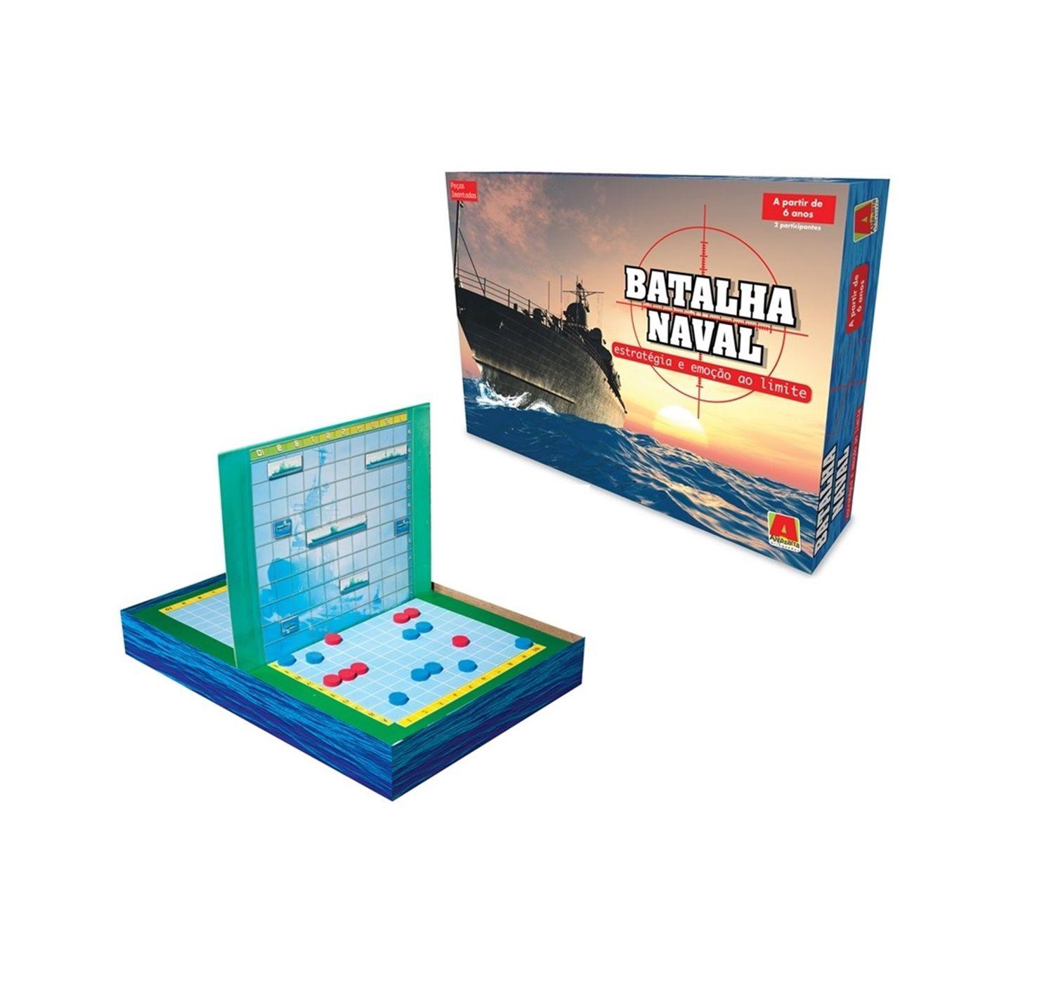 Jogo Batalha Naval Magnético - Algazarra