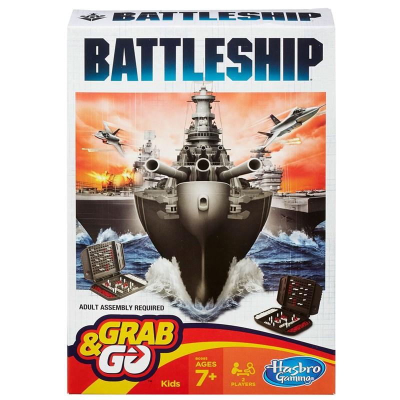 Jogo Battleship Grab & Go - Hasbro