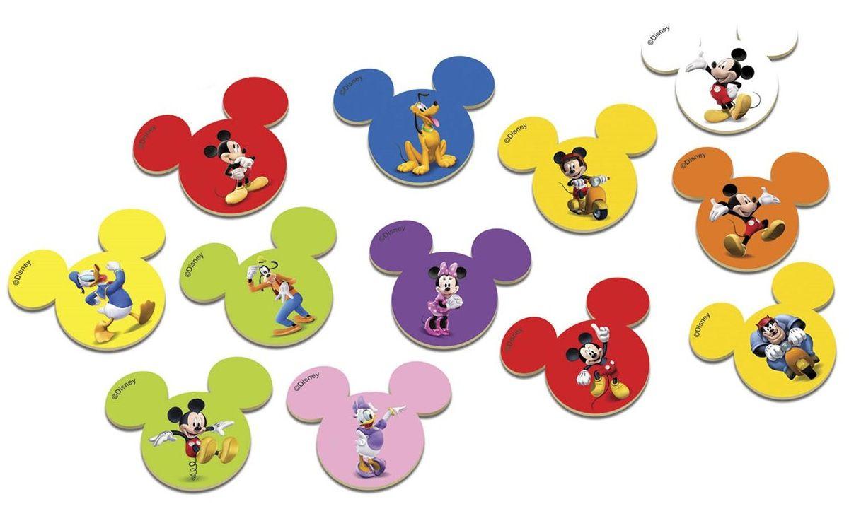 Jogo da Memória  A Casa do Mickey Mouse 24 Peças - Xalingo
