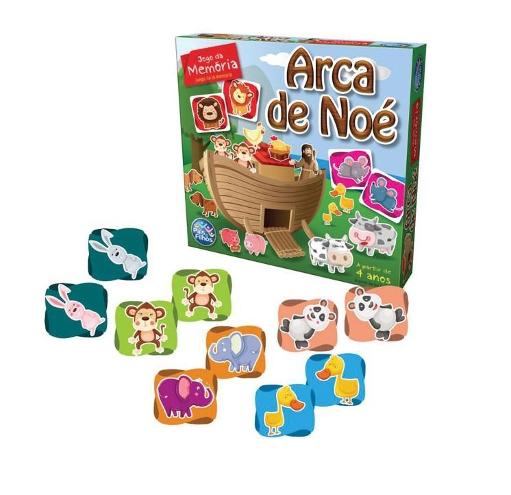 Jogo da Memória Arca de Noé - Pais e Filhos