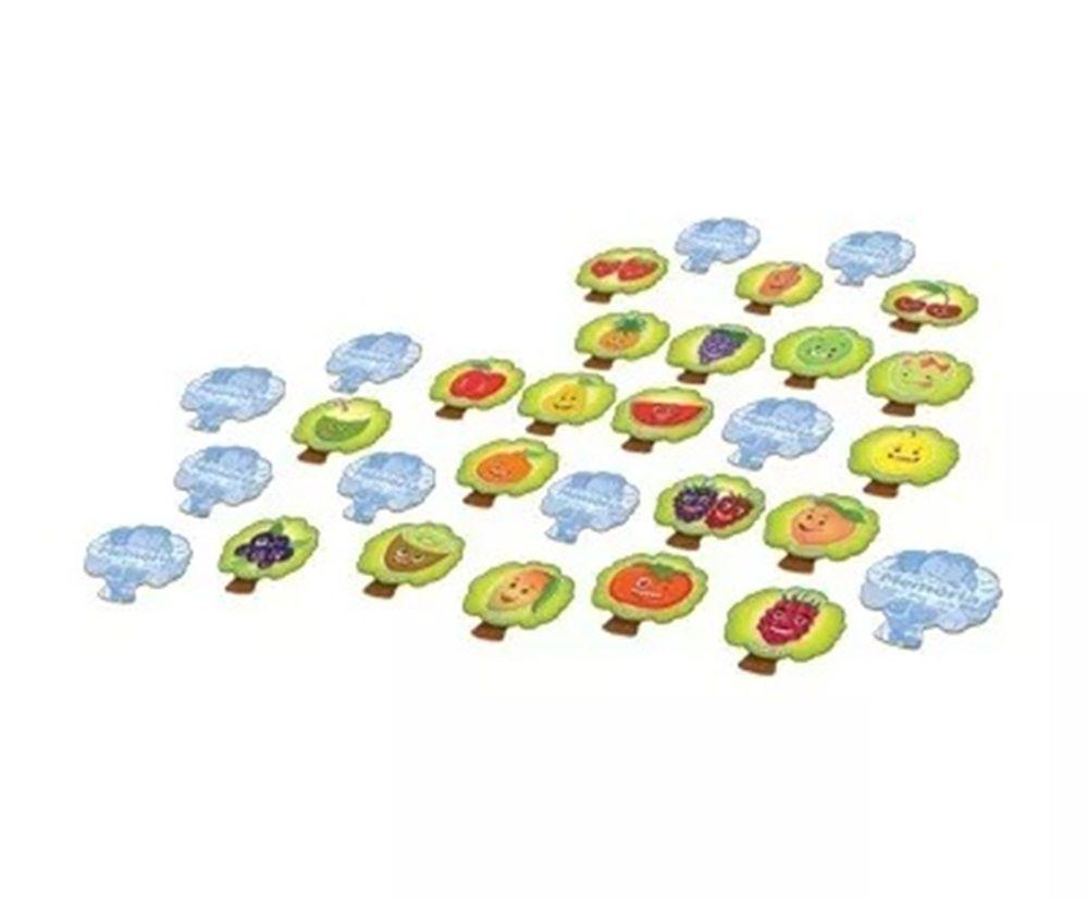 Jogo da Memória das Frutas - Toia Brinquedos