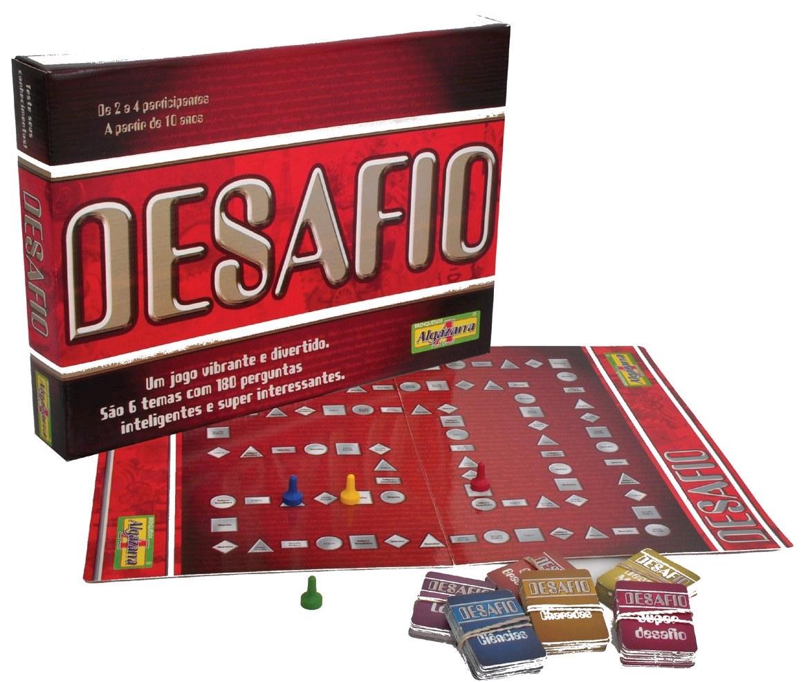 Jogo Desafio - Algazarra