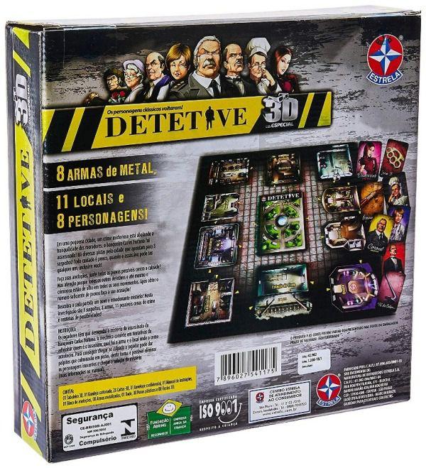 Jogo Detetive 3D Edição Especial - Estrela