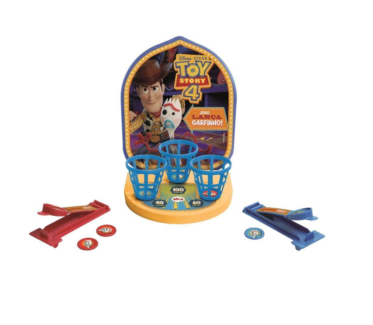 Jogo Lança Garfinho Disney Pixar Toy Story 4 - Elka