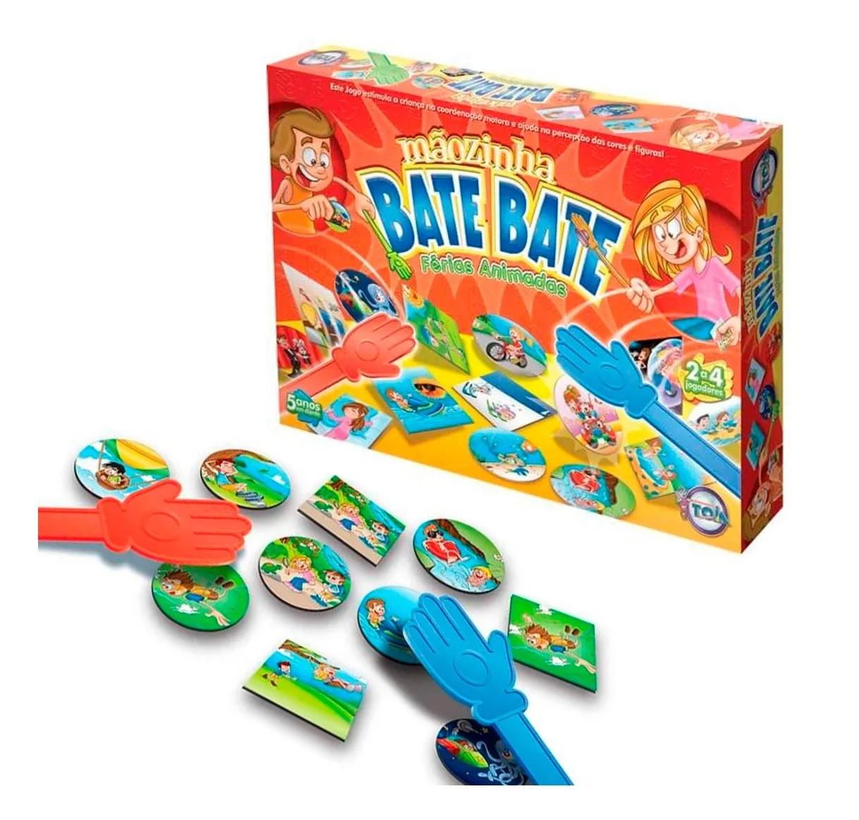 Jogo Mãozinha Bate Bate Férias Animadas - Toia Brinquedos