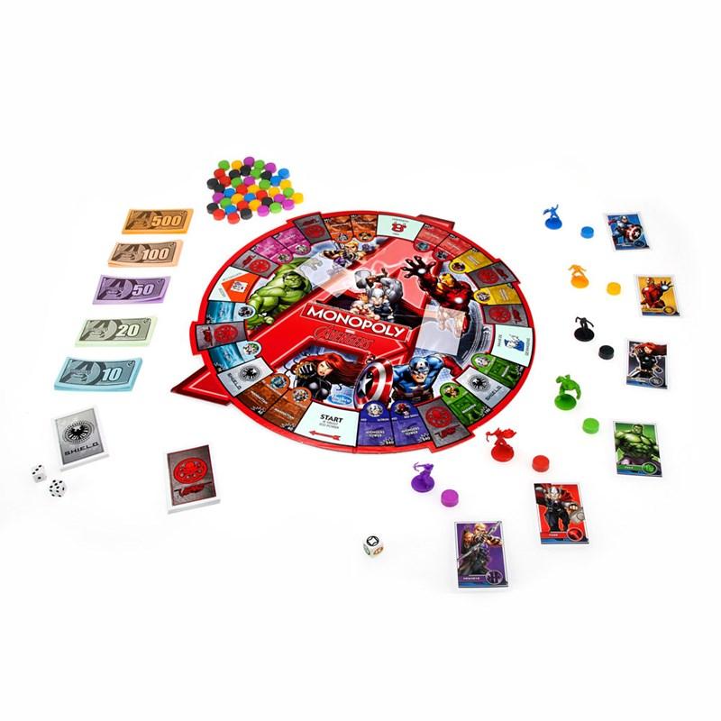 Jogo Monopoly Marvel Avengers - Hasbro