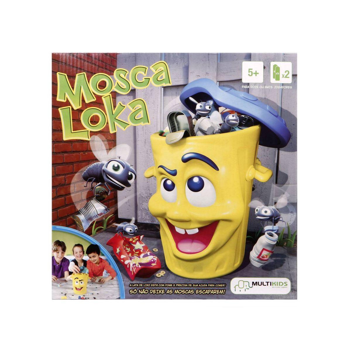 Jogo Mosca Loka - MultiKids