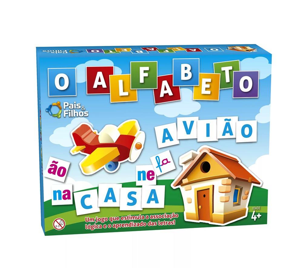 Jogo O Alfabeto - Pais e Filhos