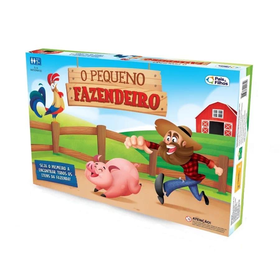Jogo O Pequeno Fazendeiro - Pais e Filhos
