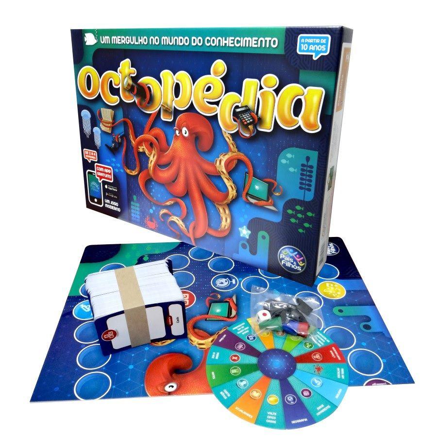 Jogo Octopédia - Pais e Filhos