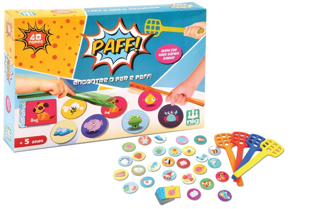 Jogo Paff! - Nig Brinquedos