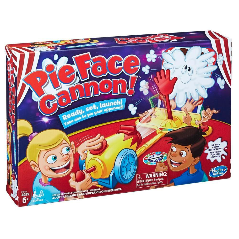 Jogo Pie Face Canhão - Hasbro