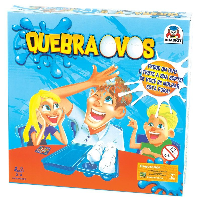 Jogo Quebra Ovos - Braskit