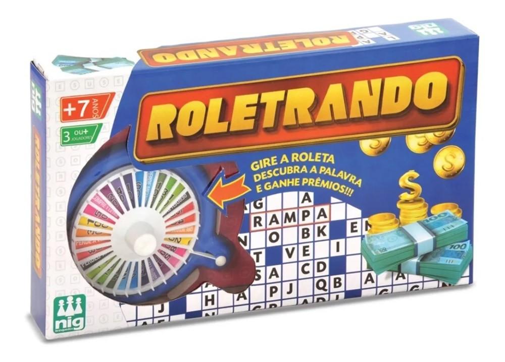 Jogo Roletrando - Nig Brinquedos