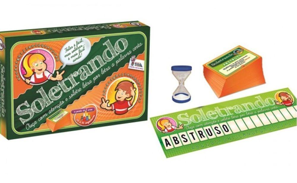Jogo Soletrando - Toia Brinquedos