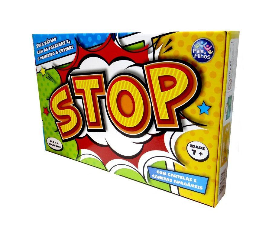 Jogo Stop - Pais e Filhos
