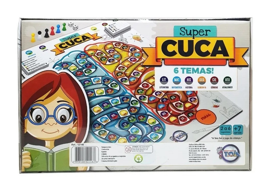 Jogo Super Cuca - Toia Brinquedos