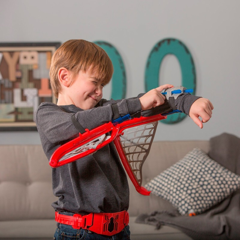 Kit Asas de Teia Spider Man Homecoming - Hasbro