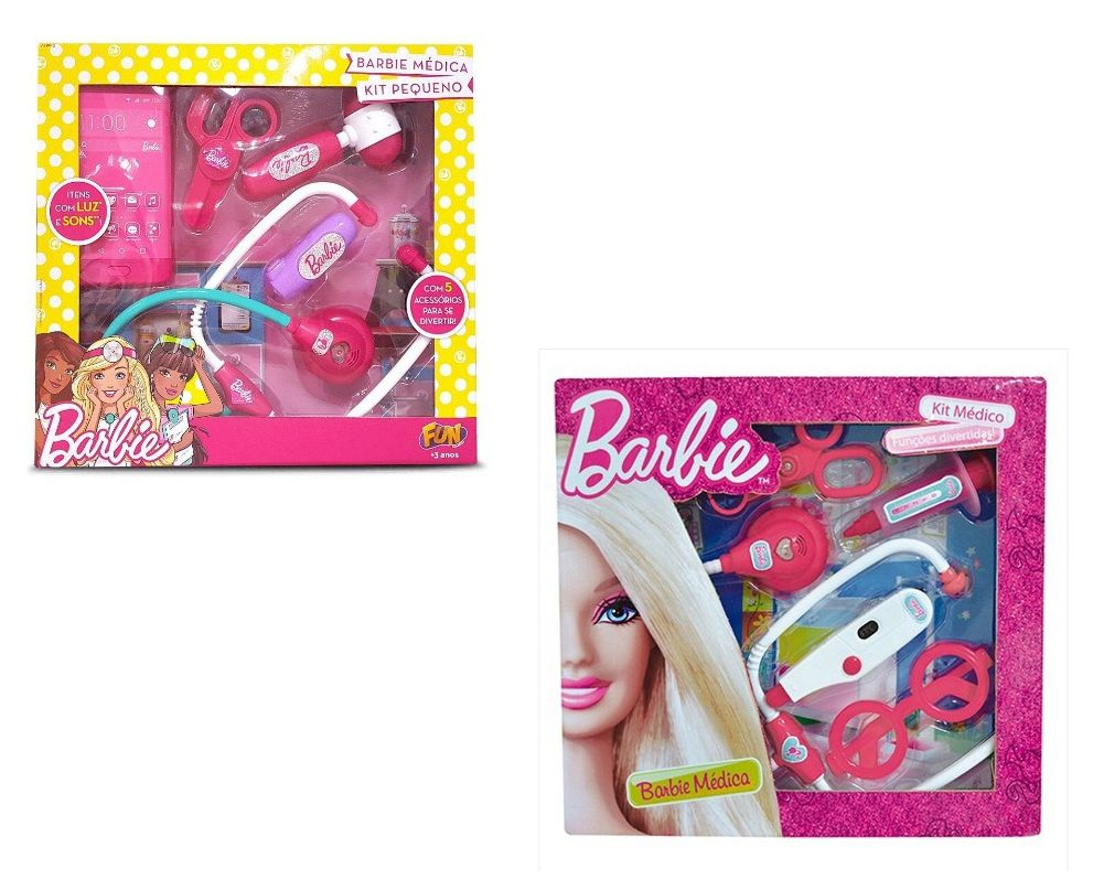 Kit Barbie Médica - FUN