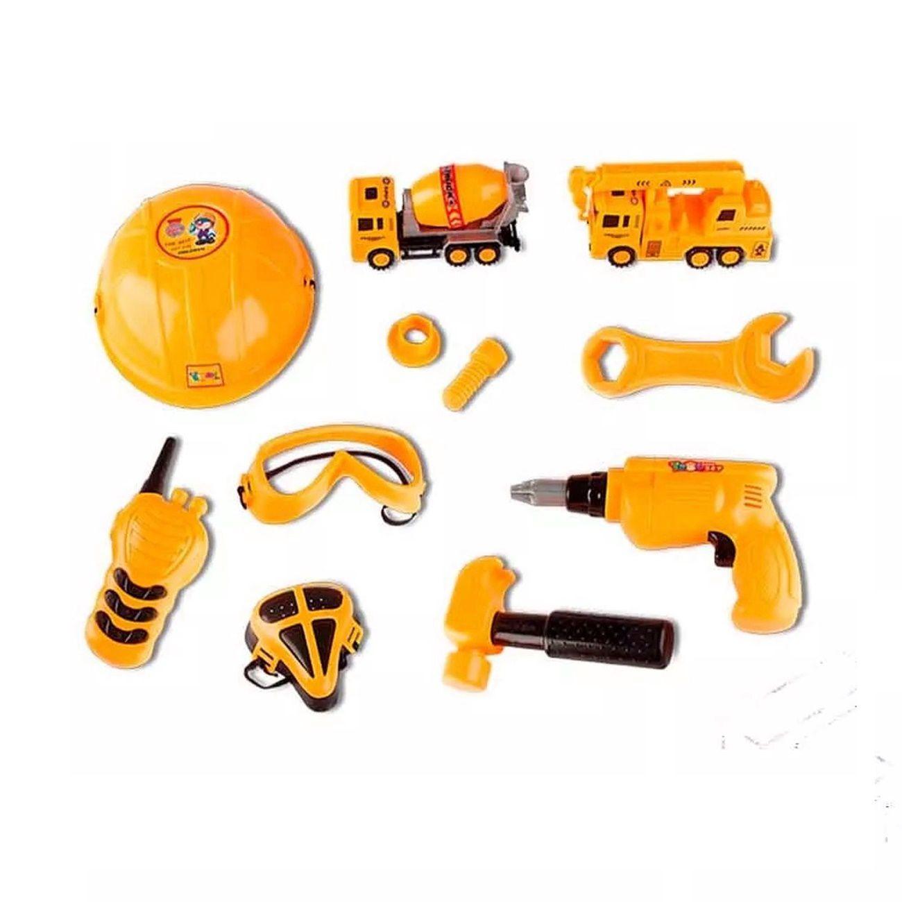 Kit Construção Delux Mãos à Obra - Zoop Toys