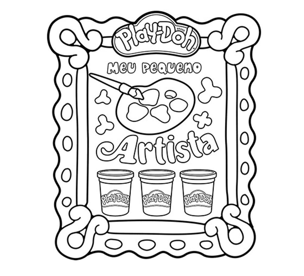 Kit de Pintura Meu Pequeno Artista Play-Doh - FUN