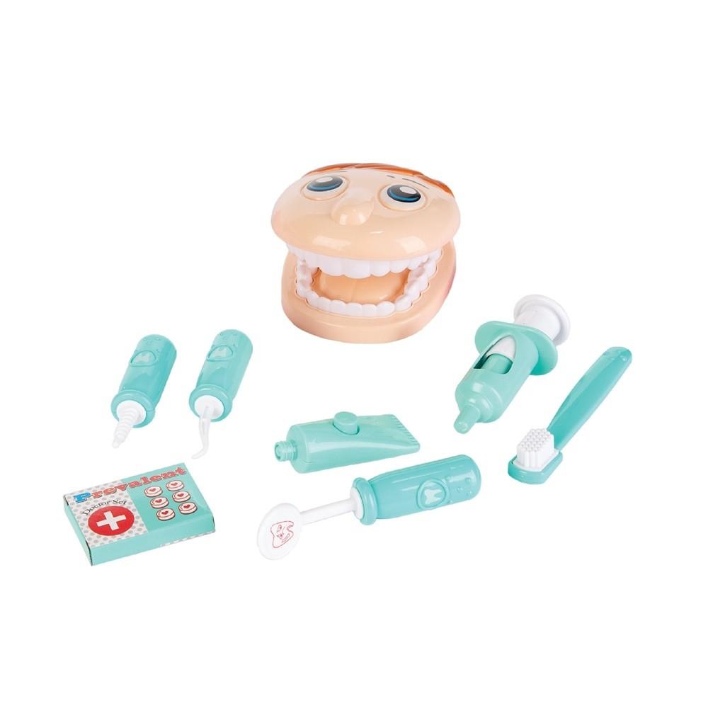 Kit Dentista Verde - Fenix Brinquedos