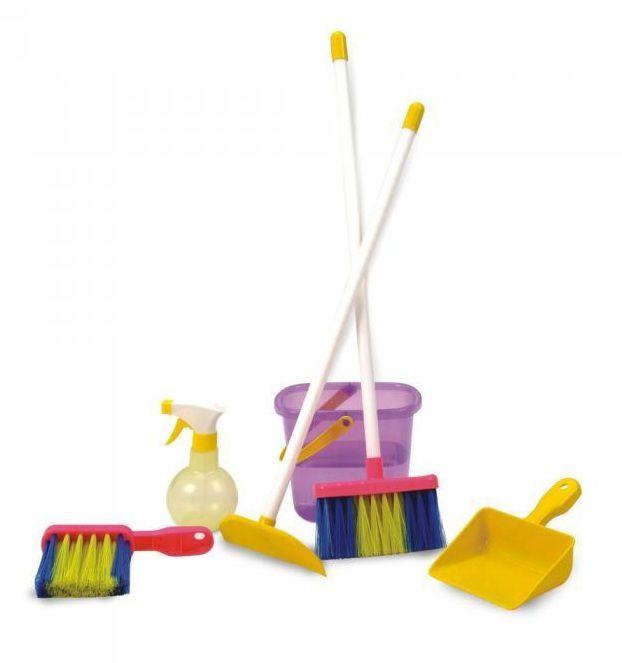 Kit Limpeza Eu Brinco de Casinha Água e Sabão - Nig Brinquedos