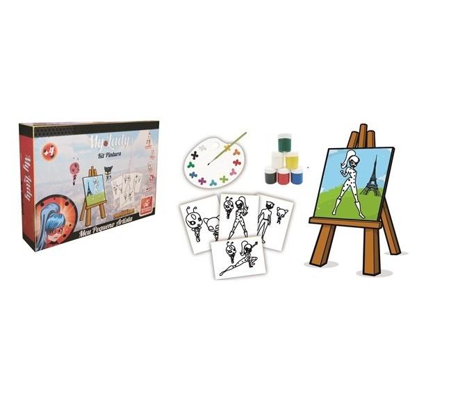 Kit Pintura Meu Pequeno Artista My Lady - Brincadeira de Criança