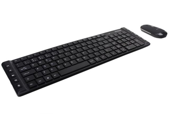 Kit Wireless Teclado Multimídia e Mouse - Mymax