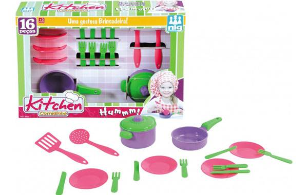 Kitchen Comidinha - Nig Brinquedos