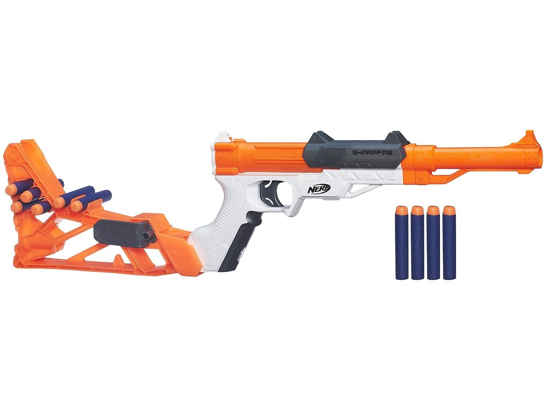 Lançador Convertível Nerf N-Strike Elite Sharpfire 6 m 1 - Hasbro
