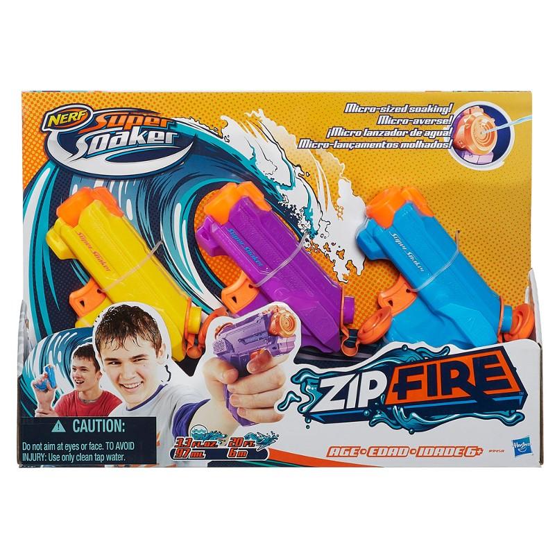 Lançador de Água Nerf Super Soaker Zip Fire - Hasbro