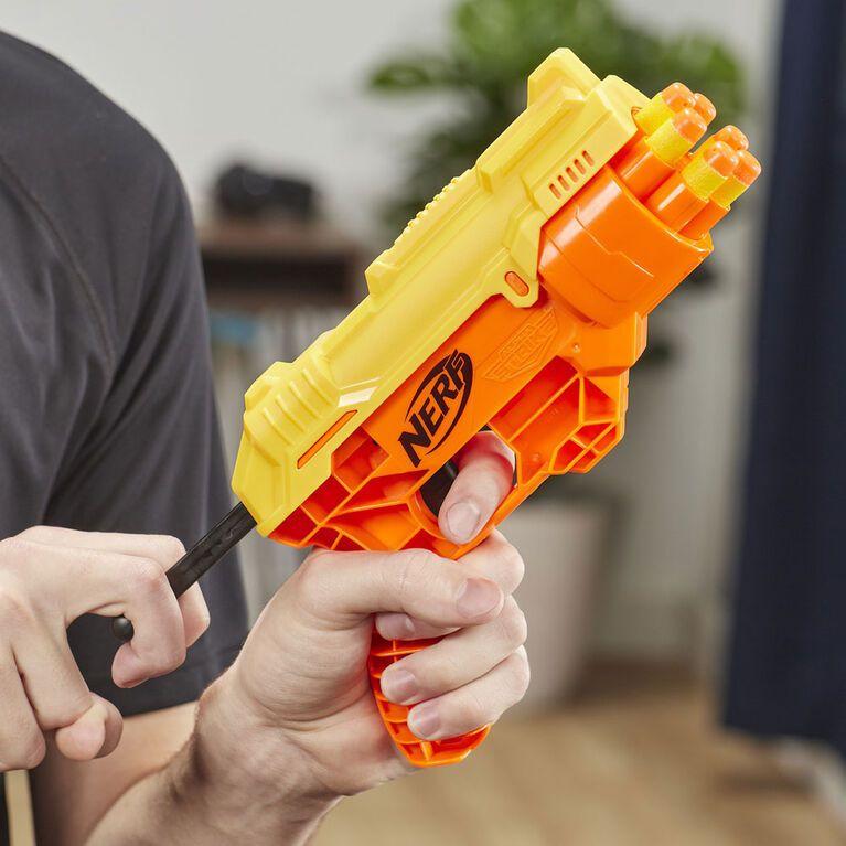 Lançador de Dardos Nerf Alpha Strike Kit Missão Secreta - Hasbro