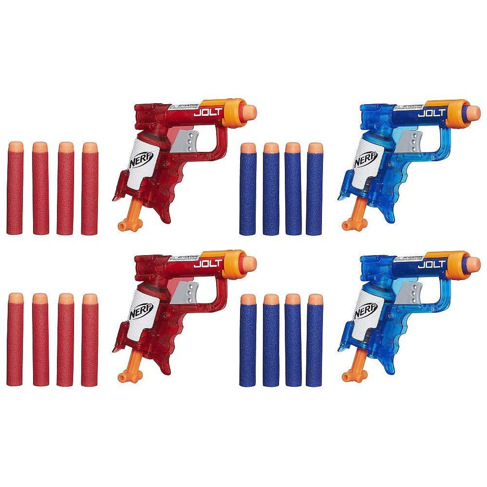 Lançador de Dardos Nerf Ice Sonic Fire N-Strike Jolt - Hasbro