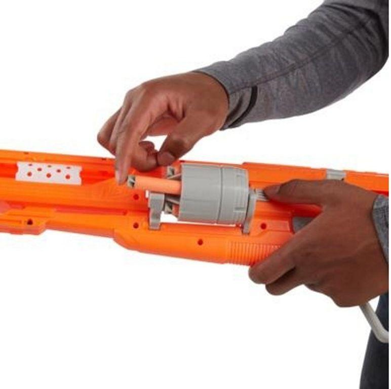 Lançador de Dardos Nerf N-Strike Elite Accustrike Alphahawk - Hasbro