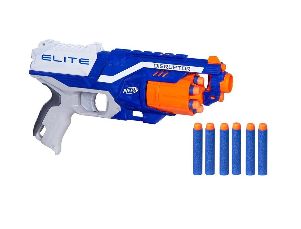 Lançador de Dardos Nerf N-Strike Elite Disruptor - Hasbro