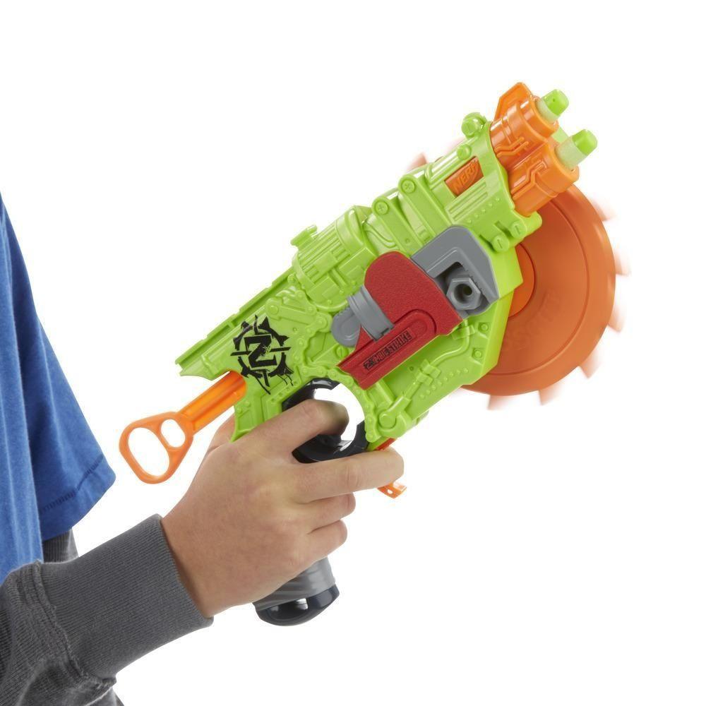 Lançador de Dardos Nerf Zombie Strike Crosscut - Hasbro