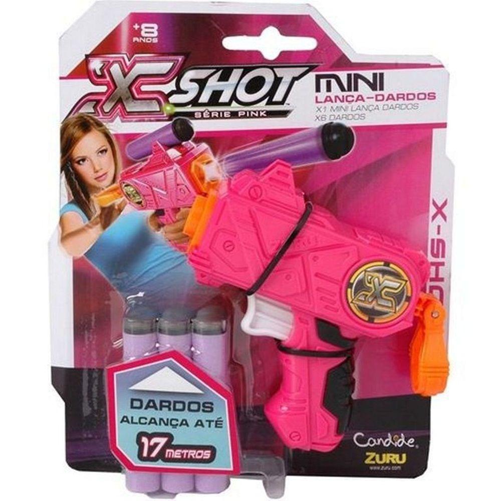 Lançador de Dardos X-Shot Micro - Candide