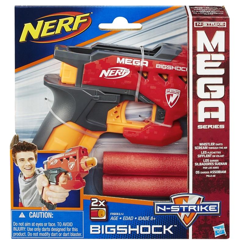 Lançador de Dardos Nerf N-Strike Elite Mega BigShock - Hasbro