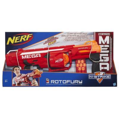 Lançador Nerf N-Strike Elite Mega Rotofuty - Hasbro