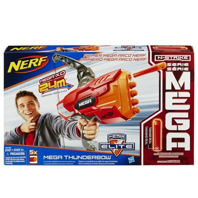 Lançador de Dardos Nerf N-Strike Elite Mega Thunderbow - Hasbro