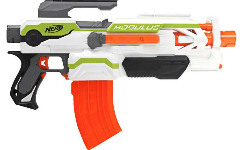 Lançador de Dardos Nerf N-Strike Modulus ECS-10 - Hasbro