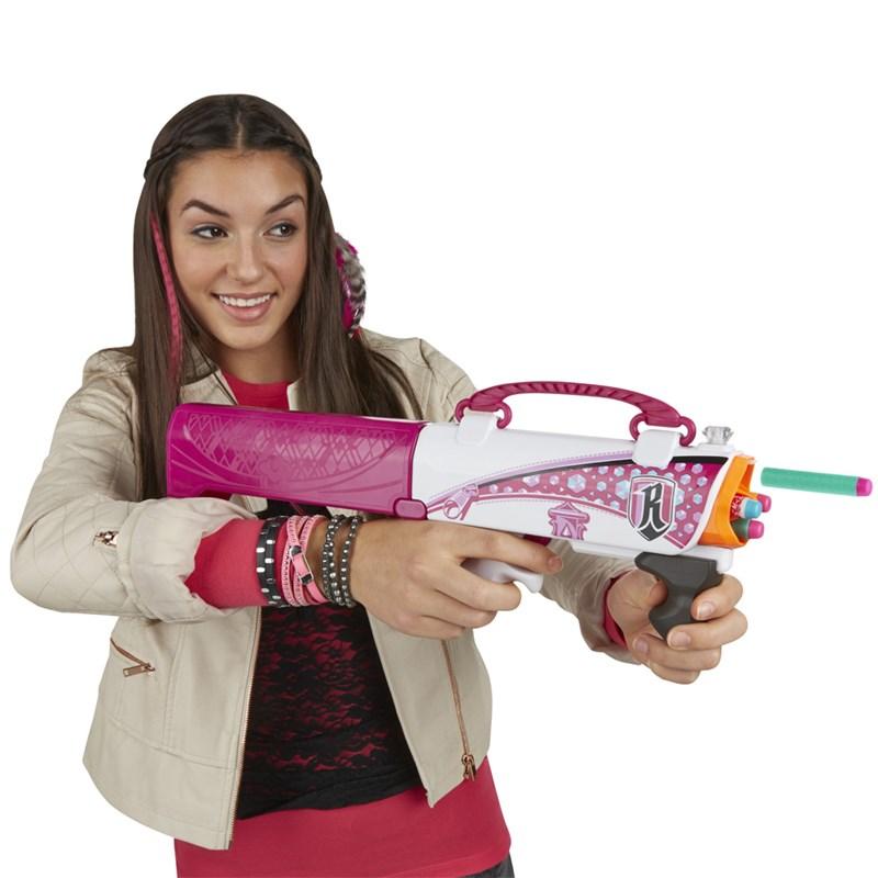 Lançador de Dardos Nerf Rebelle Secret Shot Pink - Hasbro